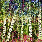Summer Birch Art Print