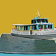 Summer Boat Ride 02 Walt Disney World Art Print