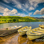 Summer Boating Art Print