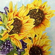 Summer Bouquet Art Print