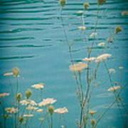 Summer By The Lake 2 Art Print