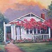 Summer Cottage Art Print