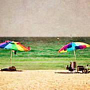 Summer Days At The Beach Art Print