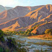 Summer Evening Eaton Canyon Print by Armand Cabrera