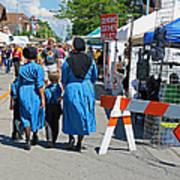 Summer Festival In Berne Indiana II Art Print