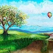 Summer Flight 2 Art Print