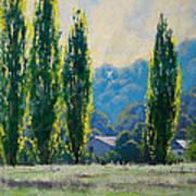 Summer Greens Art Print by Graham Gercken
