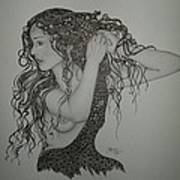 Summer Hair Art Print