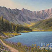 Summer In The Rockies Art Print