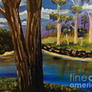 Summer In The Snowy River Region Art Print