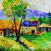 Summer Landscape 316062 Art Print