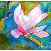 Summer Magnolia Art Print