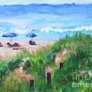 Summer On The Beach Art Print