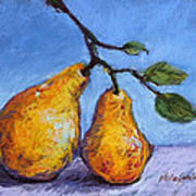 Summer Pears Art Print by Kelley Smith