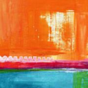 Summer Picnic- Colorful Abstract Art Art Print