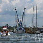 Summer Time Boating Art Print
