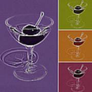 Summertime Cocktail Time Art Print