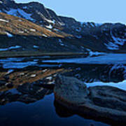 Summit Lake Calm Art Print