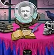 Summoning Edgar Allan Poe Art Print