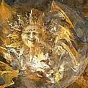 Sun 0396 - Marucii Art Print