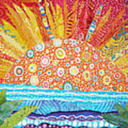 Sun Glory Art Print by Susan Rienzo