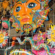 Wimberley Texas Sun Goddess And Her Court Art Print