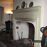Sun Inn Fireplace Art Print