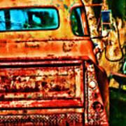 Sun Kissed Truck Art Print