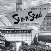 Sun-n-sand Motor Hotel II Art Print
