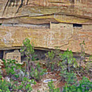Sun Point Pueblo View-12-1300 Ad  On Chapin Mesa Top Loop Road In Mesa Verde National Park-colorado  Art Print
