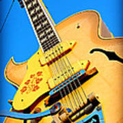 Sun Studio Guitar Art Print