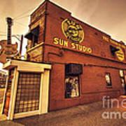 Sun Studios Memphis  Art Print