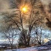 Sun Thru Smoke Art Print