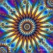 Sun Wheel 2 Art Print