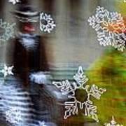 Sunbaked Snowflake Art Print