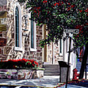 Sunbury Street Art Print