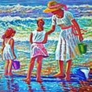 Sunday Afternoon At The Beach Art Print