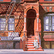 Sunday Afternoon East 7th Street Lower East Side Nyc Art Print