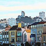 Sunday At Marina Green Park Fort Mason San Francisco Ca Art Print