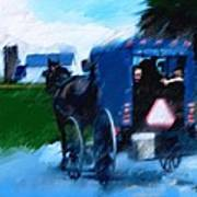 Sunday Buggy Ride Art Print