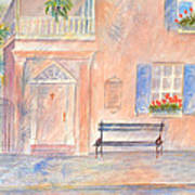 Sunday Morning In Charleston Art Print