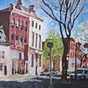 Sunday Morning Williamsport Art Print