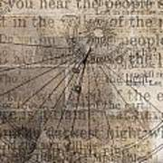 Sundial With Les Miz Art Print