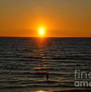 Sundown Admiration Art Print