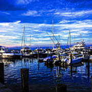 Sundown In Sag Harbor Art Print