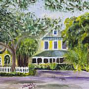 Sundy House In Delray Beach Art Print