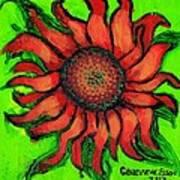 Sunflower 3 Art Print
