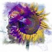 Sunflower Composite Art Print