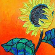 Sunflower Art Print by Diane Fine