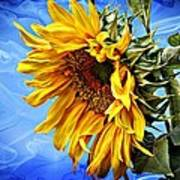 Sunflower Fantasy Art Print